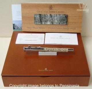 Graf Von Faber Castell Limited Walden Wood Fountain Pen