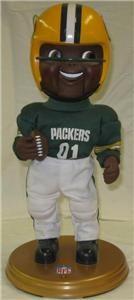 RARE 2001 Green Bay Packers Rockin Randall African American 16