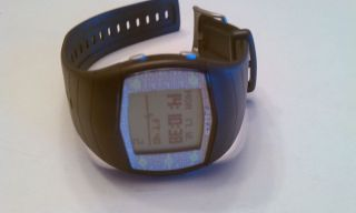 Polar FT40 Heart Rate Monitor and Stopwatch Black Water Resistant