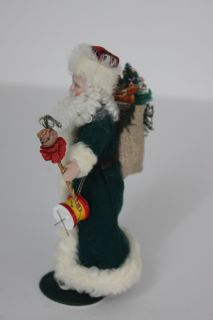 Miniature Father Christmas by Louise Hedrick ~Elegant Santa ~Must See