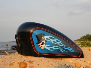 Tank Decals for Harley Davidson Lucky 13 Pick from 16 Colors