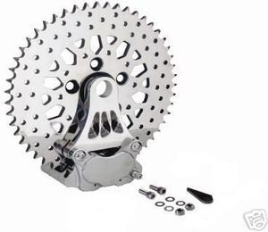 SPROTOR MESH DESIGN STYLE 51 TOOTH SPROCKET BRAKE ROTOR HARLEY NIB ALL