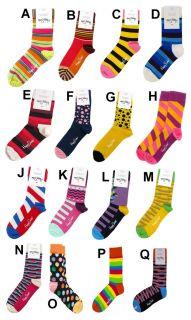 Happy Unisex Mens Ladies One Pair Socks s M 36 40