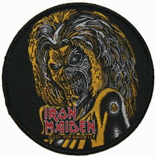 Iron Maiden Killers Face Heavy Metal Music Woven Patch
