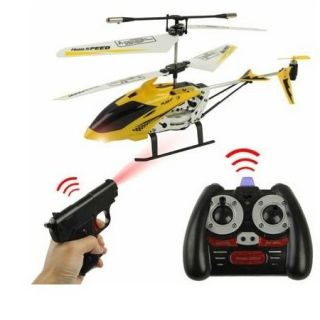 5ch Remote Control RC Toy Gun Shooting RC Helicopter w/ Light Sound