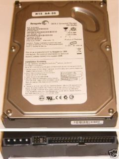 One or Lot Seagate DB35 2 Ultra ATA IDE Harddrive 160GB 102645864051