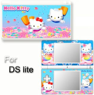 Hello Kitty Cat Vinyl Skin Sticker F Nintendo DS Lite 6