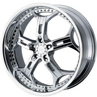 20x8 5 Chrome Wheels Rims Helo HE834 5x4 5