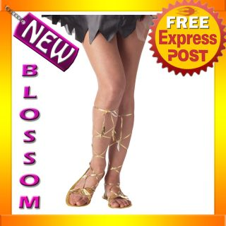 Goddess Sandals Greek Egyptian Adult Halloween Costume Accessories