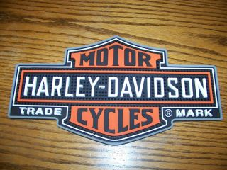 Harley Davidson Rubber Bar Mat for Counter New