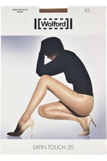 Wolford Satin Touch 20 denier tights   58% Off