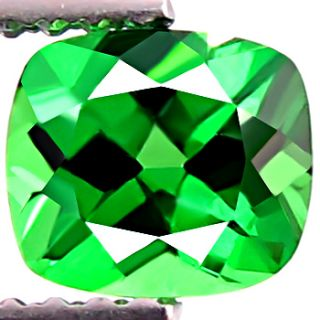 Dazzling Natural Earth Mined RARE AAA Green Garnet Tsavorite
