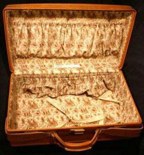 Hartman Luggage Leather Travel Bag Suitcase USA