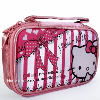 Hello Kitty Pouch Case Bag for Nintendo NDS DS Lite NDSi DSi 3DS Game
