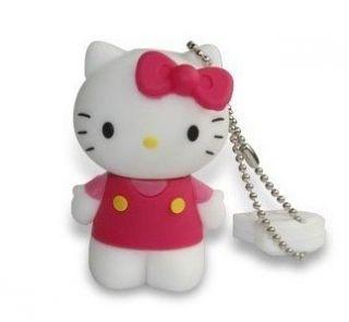 New 4GB USB Lovely Hello Kitty Full Capacity USB Flash Drive