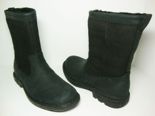 NEW UGG Men 5626 Hartsville Leather Short Winter Snow Boots Black US