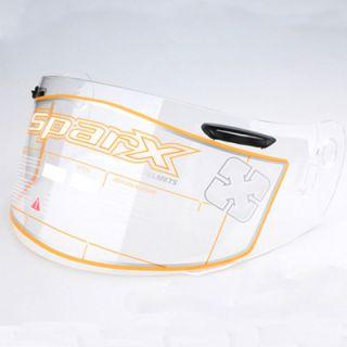 Motorcycle Sparx Helmet Shield s 07 Clear