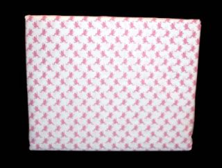 Tommy Hilfiger Greenfield Pink Full Bodied Frogs 4 PC Queen Sheet Set