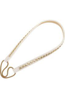 Jennifer Behr Chain leather hairband   70% Off