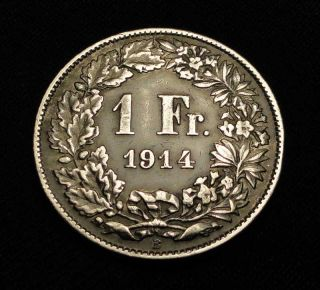 This Rare Switzerland Helvetia Silver Coin would look great in your