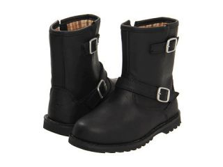 UGG Australia Harwell Black Toddler Kids Leather Boot 1001515 Zipper