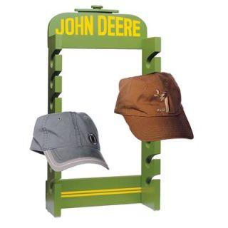 GHH Hat Rack John Deere Radiator Hand Painted Pressboard 10 x 20 5 4