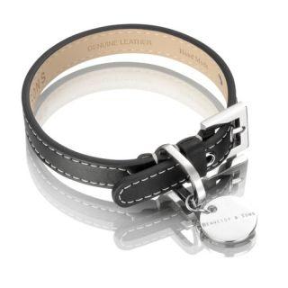 Hennessy Sons Royal Handmade British Saddle Leather Dog Collar