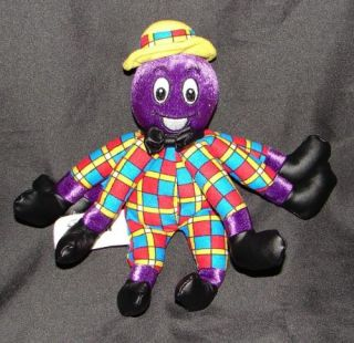 Spin Master The Wiggles Henry The Octopus Purple Plush Stuffed