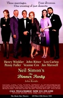 Poster The Dinner Party John Ritter Henry Winkler Jan Maxwell
