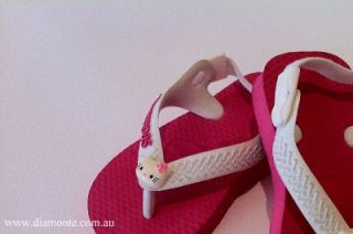 kids havaianas thongs featuring hello kitty bho1
