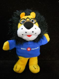 Harris Hubert Plush BMO of Canada Mascot Doll w T Shirt
