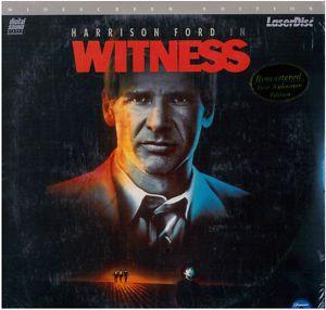 Harrison Ford Witness Laser Disc Still SEALED