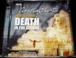 Christie Death In The Clouds Double CD Audio Book BBC Radio Collection