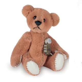 Miniature Teddy Bear Cognac Teddy Hermann in Gift Box