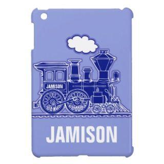 Train boys named blue ipad mini case