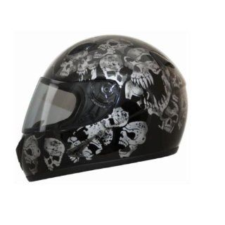 HCI Screaming Skulls Full Face Motorcycle Helmet. 75 800