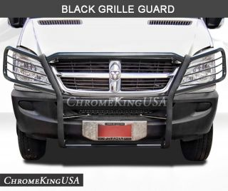 2007 2012 Dodge Sprinter Black Grille Guards Brush Bull Bar
