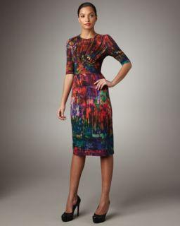Erdem Ashley Twist Front Dress