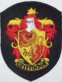 Harry Potter Gryffindor Embriodered Iron on Patch High Quality Brand