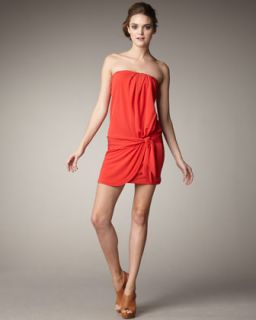 Haute Hippie Strapless Jersey Dress