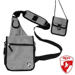 Heys USA Exotic Houndstooth TravelMate Sling Bag Heys USA Exotic