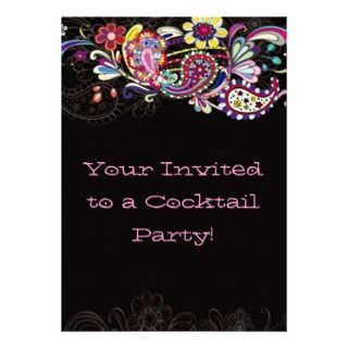Buy this Funky Fun Retro Style Party Invitation