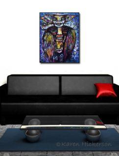 Karen Hickerson Art Painting 16x20 Voodoo Marie Laveau