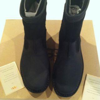 UGG Hartsville Mens Boots Black Size 10US Shearling