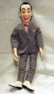 pee wee herman 18 doll in like new condition clean original condition
