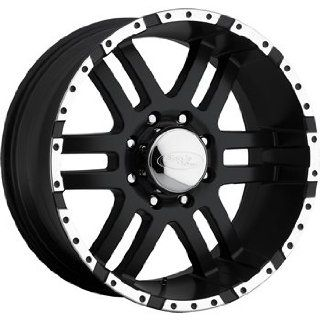American Eagle 79 18 Black Wheel / Rim 8x6.5 with a  12mm Offset and a