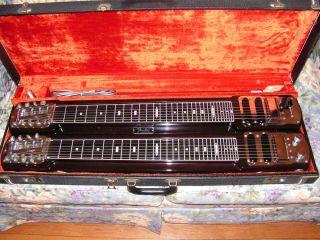 1968 Fender Stringmaster Double Eight D8 Steel Guitar mahogany