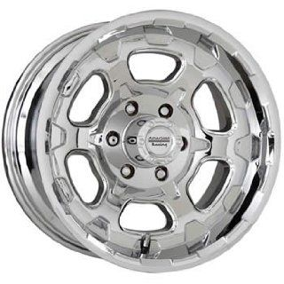 American Racing ATX Chamber 18x9.5 Chrome Wheel / Rim 6x135 with a