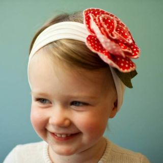Flower Bow Headband Hair Clothing Kid Newborn Girls Baby Infant