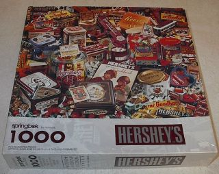 Springbok Puzzle Hersheys Chocolate Candy 1997 1000 PC